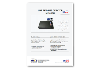 UHF-SDK1 - MDT Innovations Sdn  Bhd